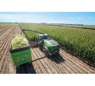 Highly-efficient forage harvesting equipment forms the culmination of the full line strategy