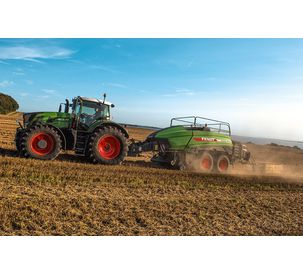 The Fendt Squadra 1290 UD square baler. In a class of its own.