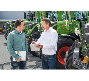 Fendt Services: Comprehensive coverage of Fendt full line products with flexible premiums