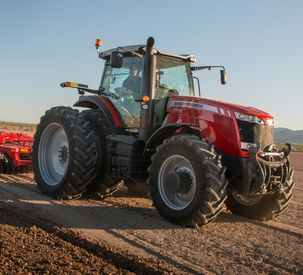Massey Ferguson Advances Technology in 8700 Series High Horsepower Tractors