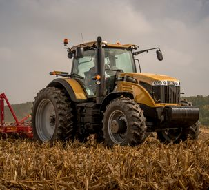 Challenger MT600E Series tractor tillage