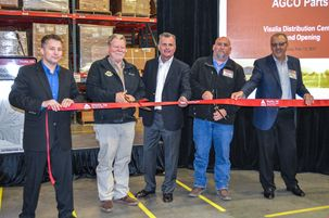 Visalia is New Location for AGCO Parts Distribution Center Serving 11 States