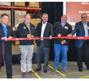 AGCO Parts PDC Visalia California Ribbon-Cutting