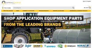 SprayParts.com Homepage