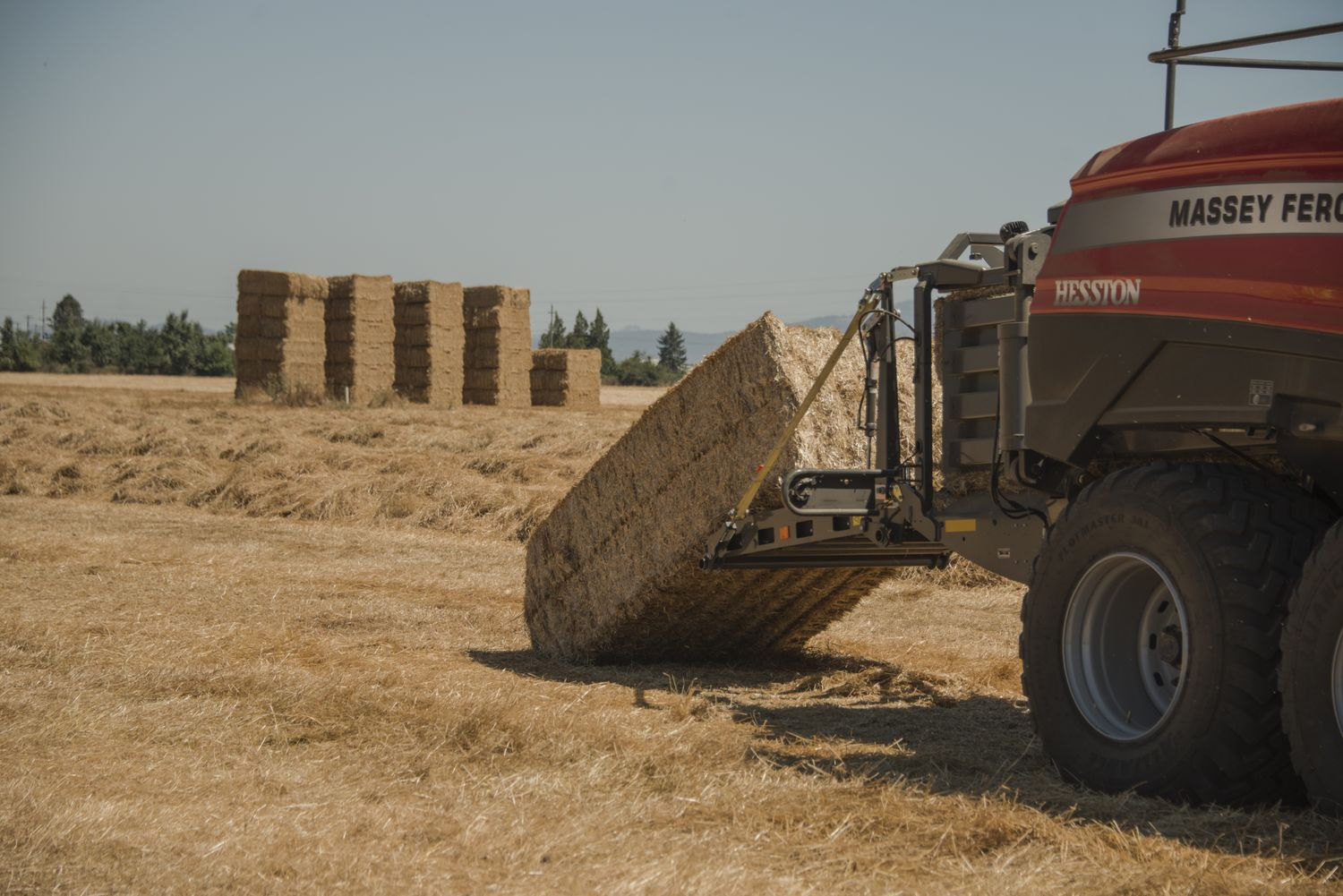 AGCO Launches Industry's First Class 8 Large Square Baler at