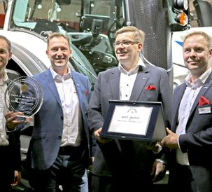A jackpot for Valtra at Agritechnica trade fair: Valtra wins the Tractor of the Year 2018 and Best Design 2018 awards at Agritechnica