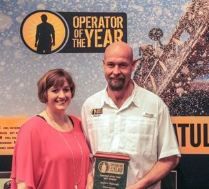 AGCO 12th Annual Operator of the Year Andrew and Jodi Myburgh