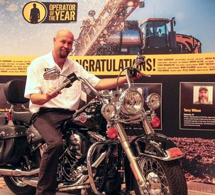 AGCO Operator of the Year 2017 Harley Davidson