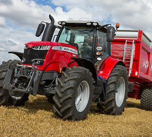 Everything from Massey Ferguson is new!