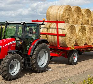 Three cylinder models with Dyna-4 transmission join the MF 5700 Global Series