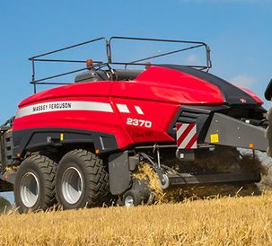 Massey Ferguson MF 2370 UHD baler is in a class of its own