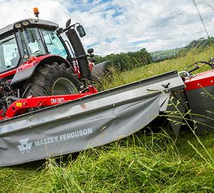 New vertically folding models join Massey Ferguson mounted mower range