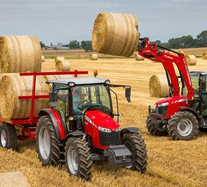 MF 5709 -  Finalist in Tractor of the Year awards