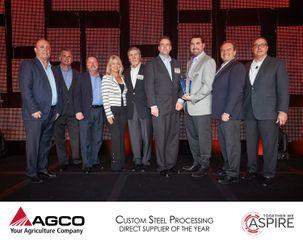 AGCO 2017 Supplier Awards (Custom Steel)
