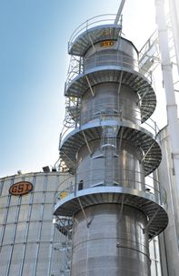 GSI Heat Reclaimer Retrofit Reduces Tower Dryer Operating Costs