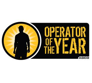 AGCO Operator of the Year logo