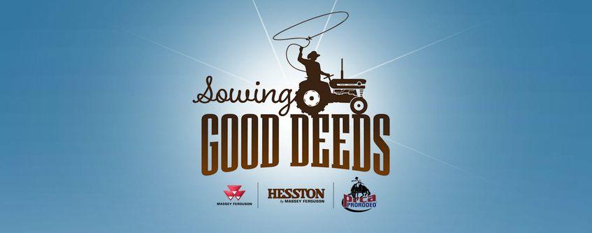 AGCO Hesston Sowing Good Deeds 2017