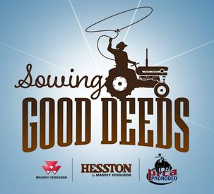 AGCO Hesston Sowing Good Deeds 2017