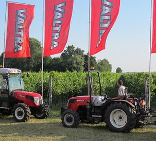 New A Series models on display at Enovitis in Campo 2014