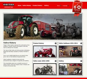Come and experience Valtra´s history online