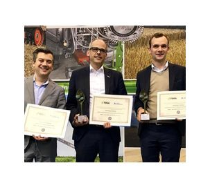 Three awards for technical innovations at FIMA 2018 in Spain