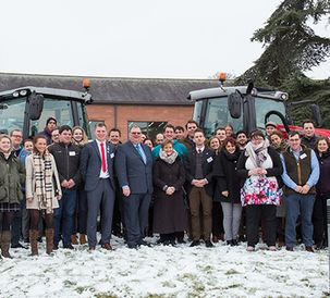 European young farmers meet in UK for discussions on trade and policy
