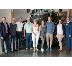 Germany's best young winemaker visits Fendt