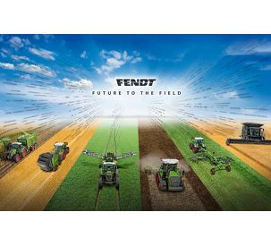 Fendt brings the future to the field: Fendt SAATEN-UNION field day 2018
