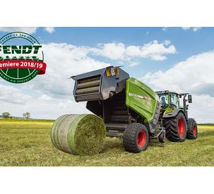 Bales always in perfect shape. Fendt Rotana: The new generation of round balers.