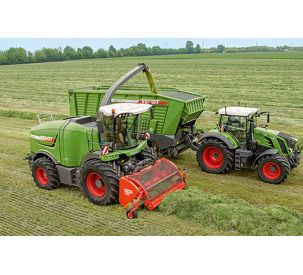 New pickup, easy to use, longer service life: Further development of the Fendt Katana