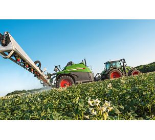 Plant protection technology further improved: New features of the Fendt Rogator series