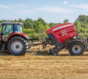 Massey Ferguson hay and forage range extended and strengthened with new balers and wrappers