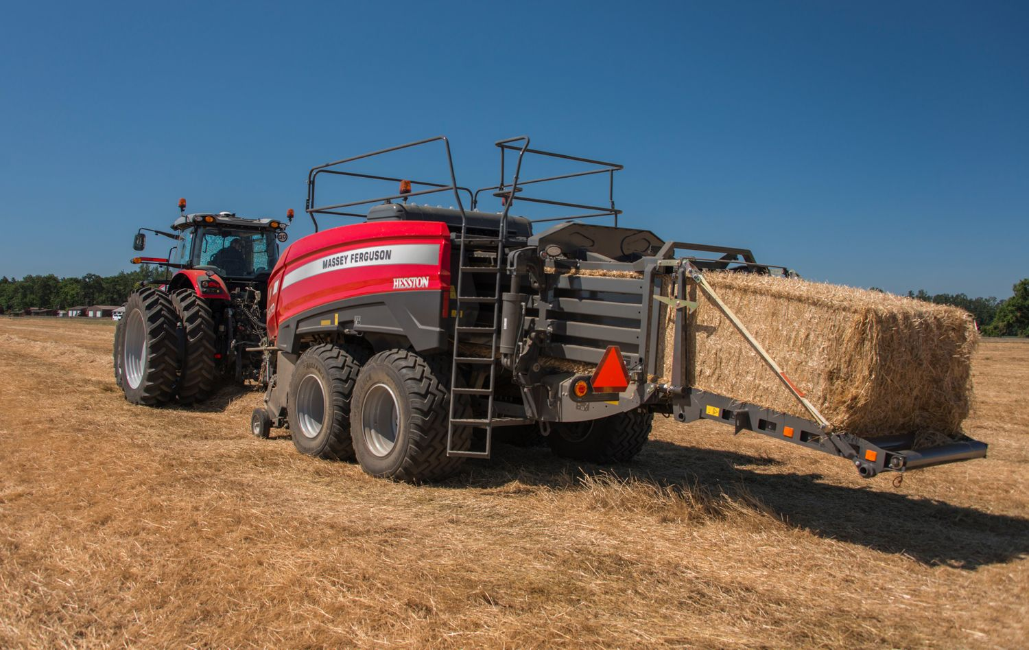 Hesston by Massey Ferguson to Debut 2370 Ultra High Density Large Square Baler at World Ag Expo 2018
