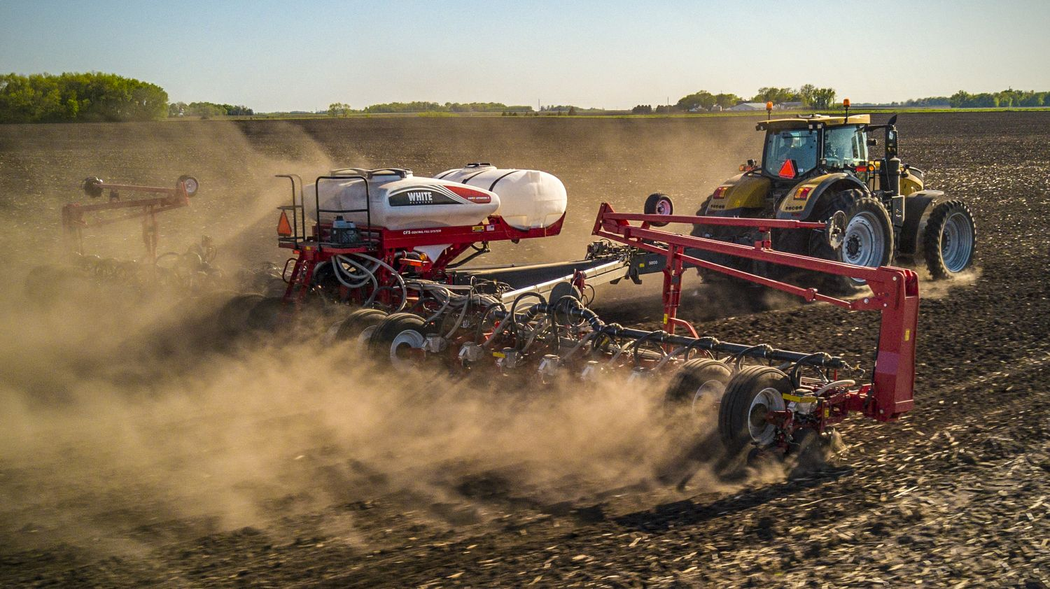 AGCO Introduces New White Planters 9500VER and 9700VER  Precision Planting-ready Toolbars