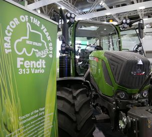 "The Fendt 313 Vario wins ""Tractor of the Year 2019"" in the ""Best Utility"" category at EIMA"