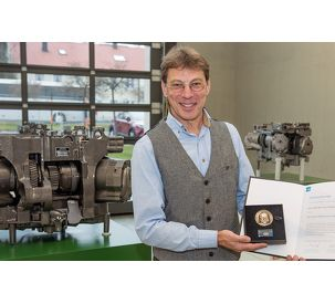 Fendt engineer Richard Heindl awarded the Max-Eyth Commemorative Medal