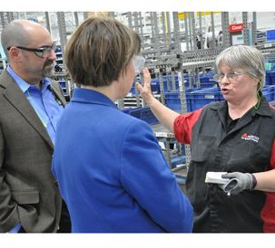 Klobuchar Excited to See Apprenticeships Working