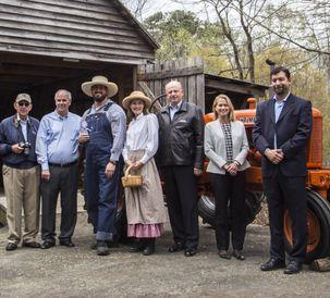 McDaniel Park Tractor Dedication 1