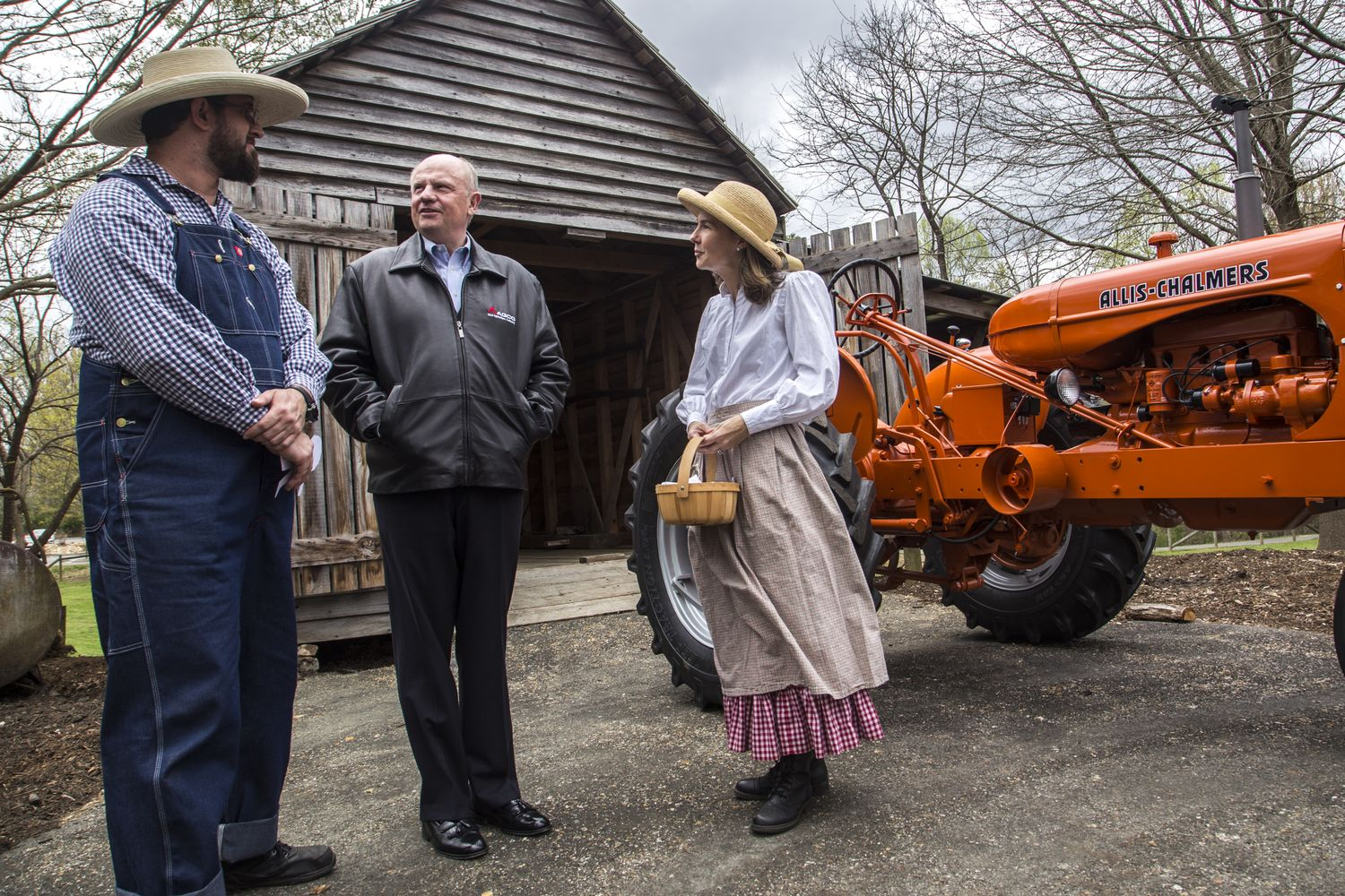 AGCO Corporation Restores McDaniel Farm Park Antique Tractor