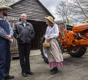 AGCO Restores Antique Tractor for Gwinnett County, GA McDaniel Farm Park