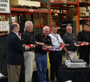 AGCO Parts Regina Parts Distribution Center 2018 Ribbon Cutting