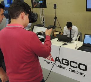 Smart Factory Showcase presents industry 4.0 in AGCO Brazilian Factories