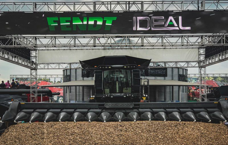 Fendt IDEAL Combine Takes Center Stage at  2018 Farm Progress Show