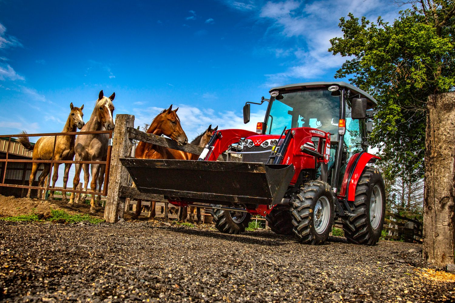 Massey Ferguson Debuts the 1700M Series Compact Tractor at  Farm Progress Show 2018