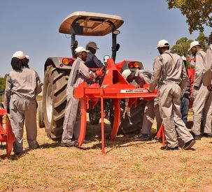 AGCO and Germany's BMZ announce intention to co-operate in a new project to support farm mechanization in Sub-Saharan Africa