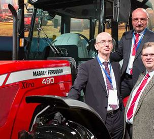 Massey Ferguson - now available in Russia