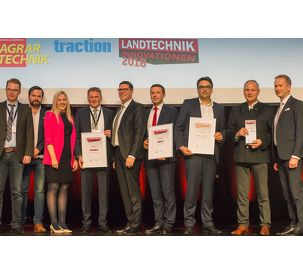 "Fendt Tracked Tractor wins at the ""Innovations in Agricultural Technology 2018"" awards"