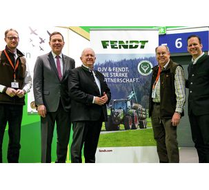 Fendt is premium partner of the German Gamekeepers Association