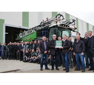 100th Fendt Rogator 600 handed over to customer