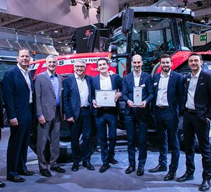 Massey Ferguson Awarded Machine of the Year at SIMA 2019